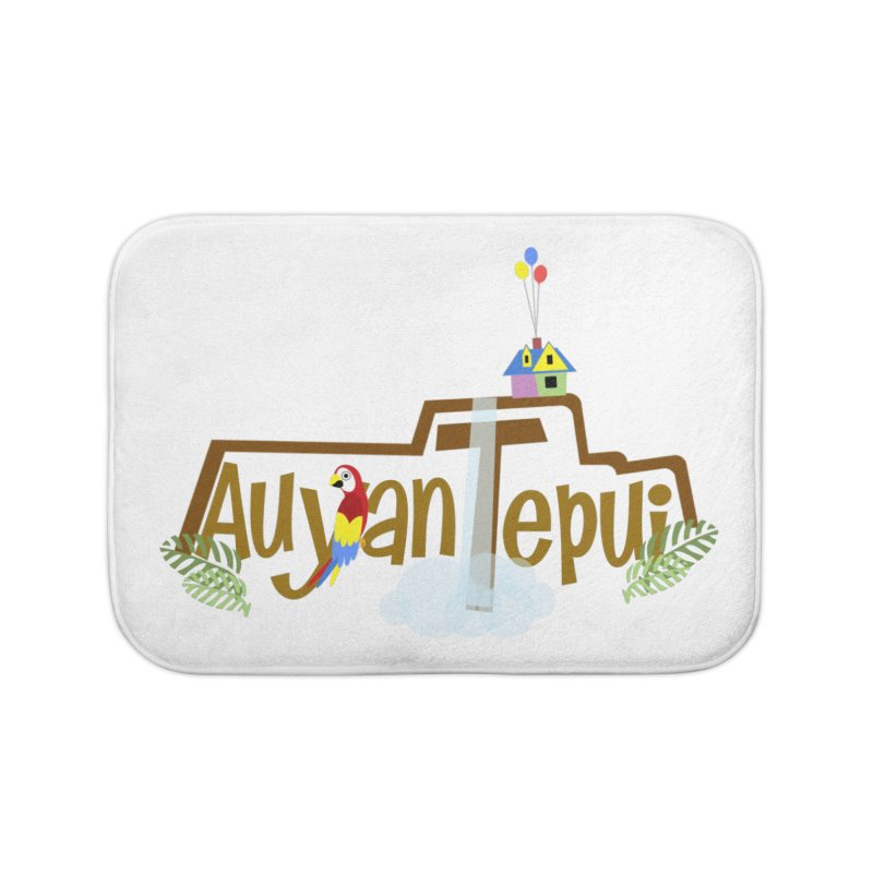 AuyanTepui Home Bath Mat by PickaCS's Artist Shop