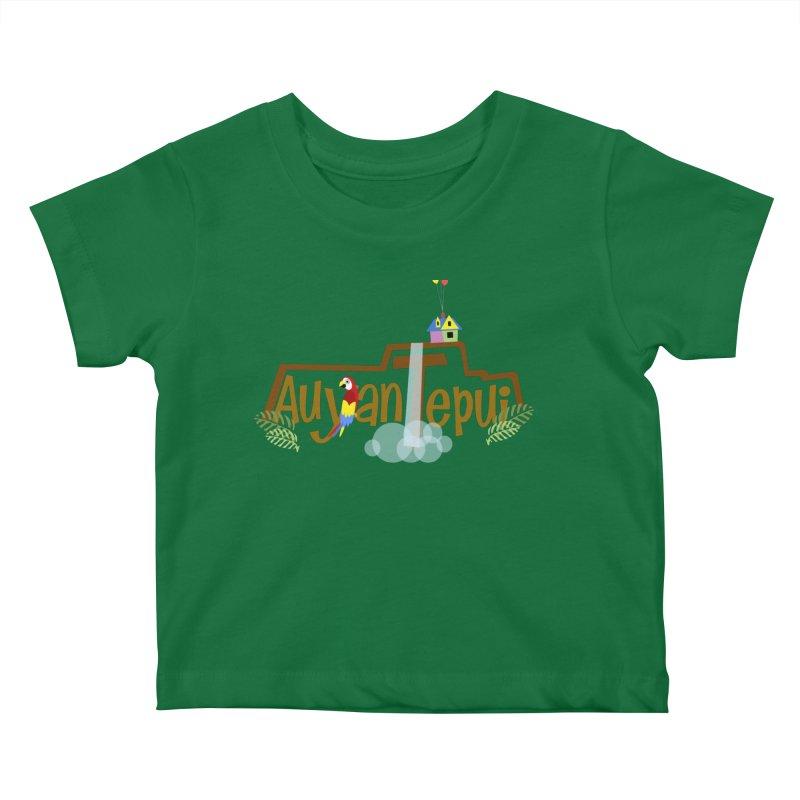 AuyanTepui Kids Baby T-Shirt by PickaCS's Artist Shop