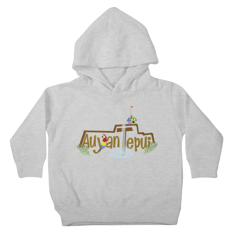 AuyanTepui Kids Toddler Pullover Hoody by PickaCS's Artist Shop