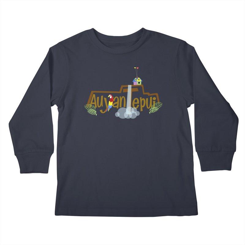 AuyanTepui Kids Longsleeve T-Shirt by PickaCS's Artist Shop