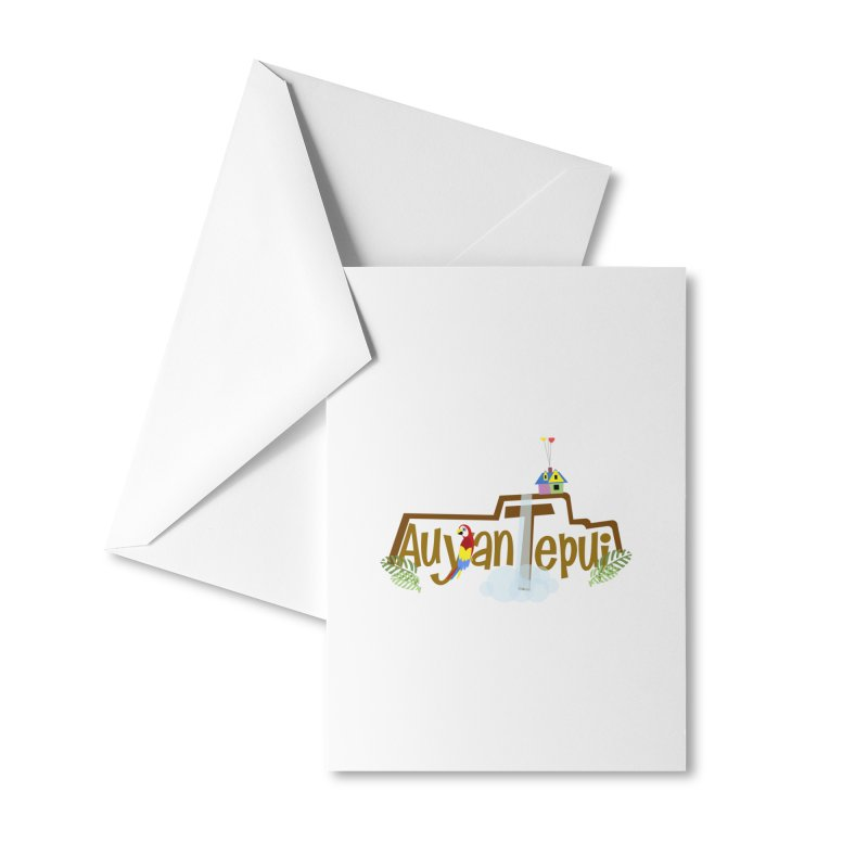 AuyanTepui Accessories Greeting Card by PickaCS's Artist Shop
