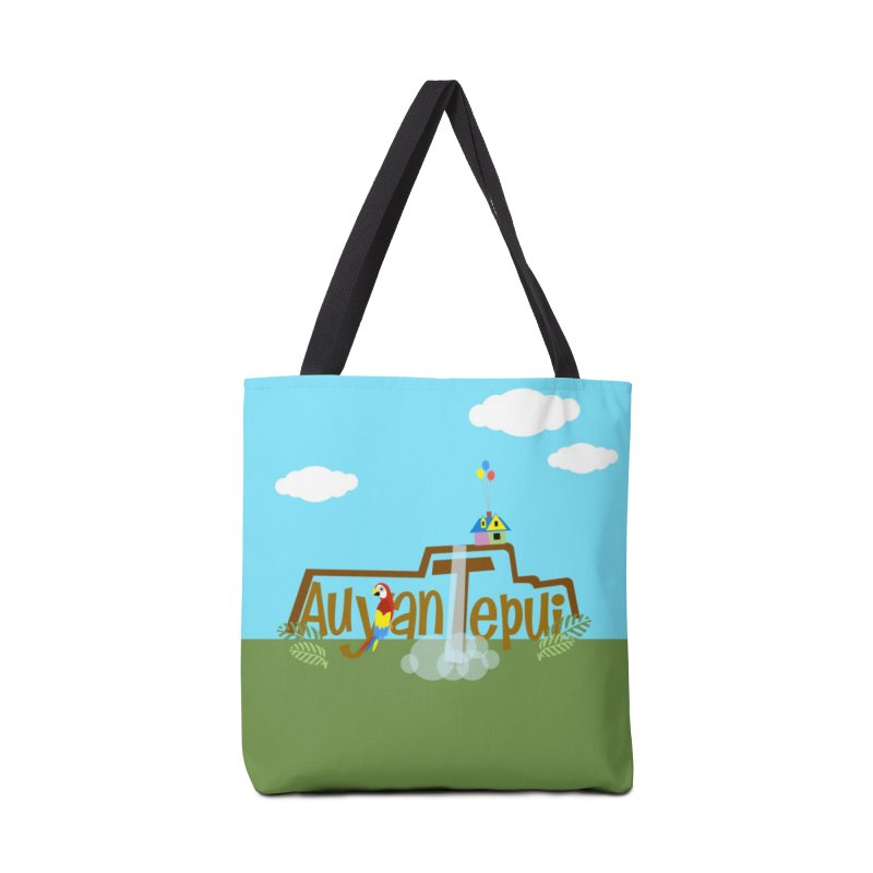 AuyanTepui Accessories Tote Bag Bag by PickaCS's Artist Shop