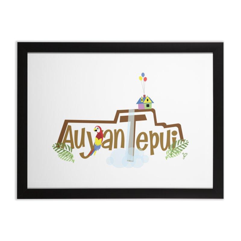 AuyanTepui Home Framed Fine Art Print by PickaCS's Artist Shop