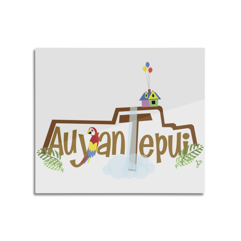 AuyanTepui Home Mounted Acrylic Print by PickaCS's Artist Shop