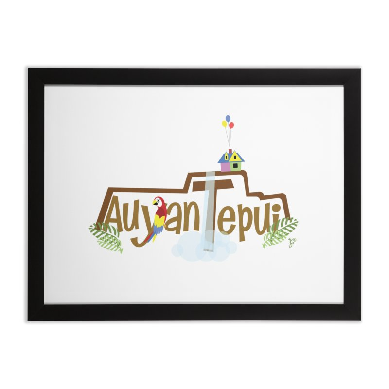 AuyanTepui Home Framed Fine Art Print by PickaCS's Artist Shop