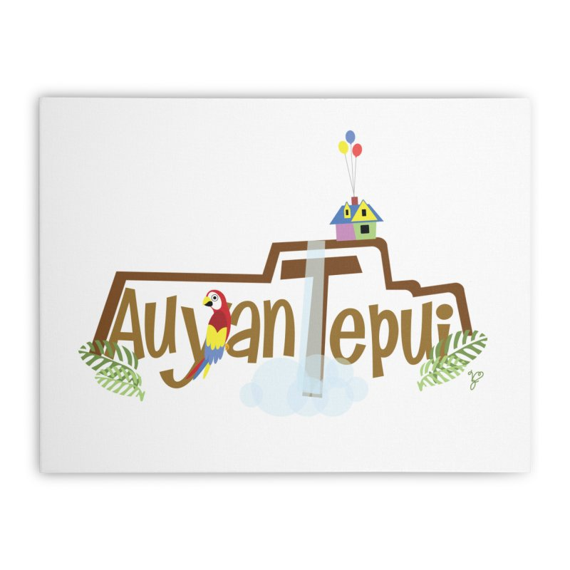 AuyanTepui Home Stretched Canvas by PickaCS's Artist Shop
