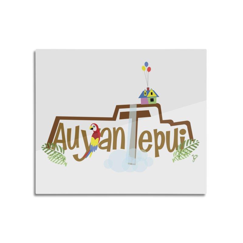 AuyanTepui Home Mounted Aluminum Print by PickaCS's Artist Shop