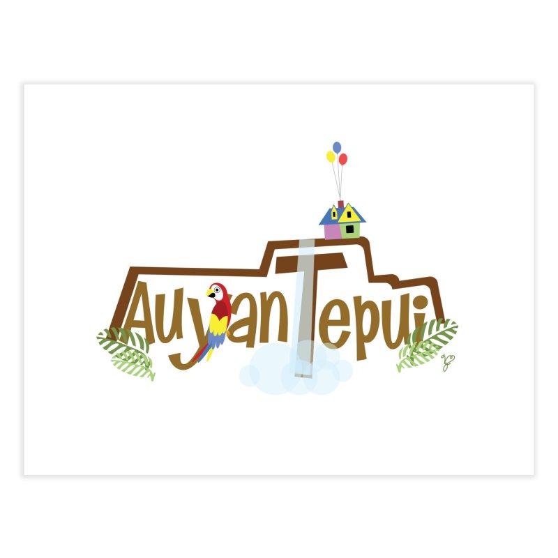 AuyanTepui Home Fine Art Print by PickaCS's Artist Shop