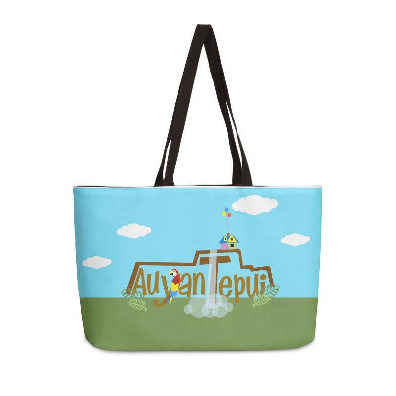 AuyanTepui Accessories Weekender Bag Bag by PickaCS's Artist Shop