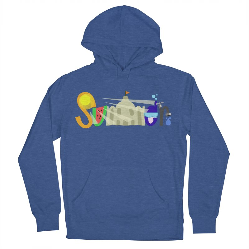SuMMer Men's French Terry Pullover Hoody by PickaCS's Artist Shop