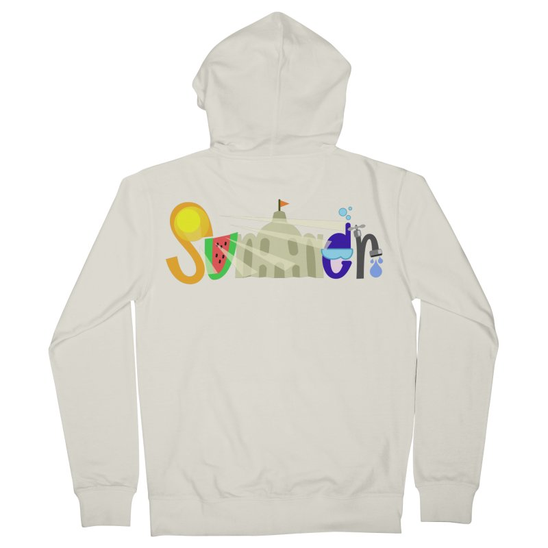 SuMMer Women's Zip-Up Hoody by PickaCS's Artist Shop