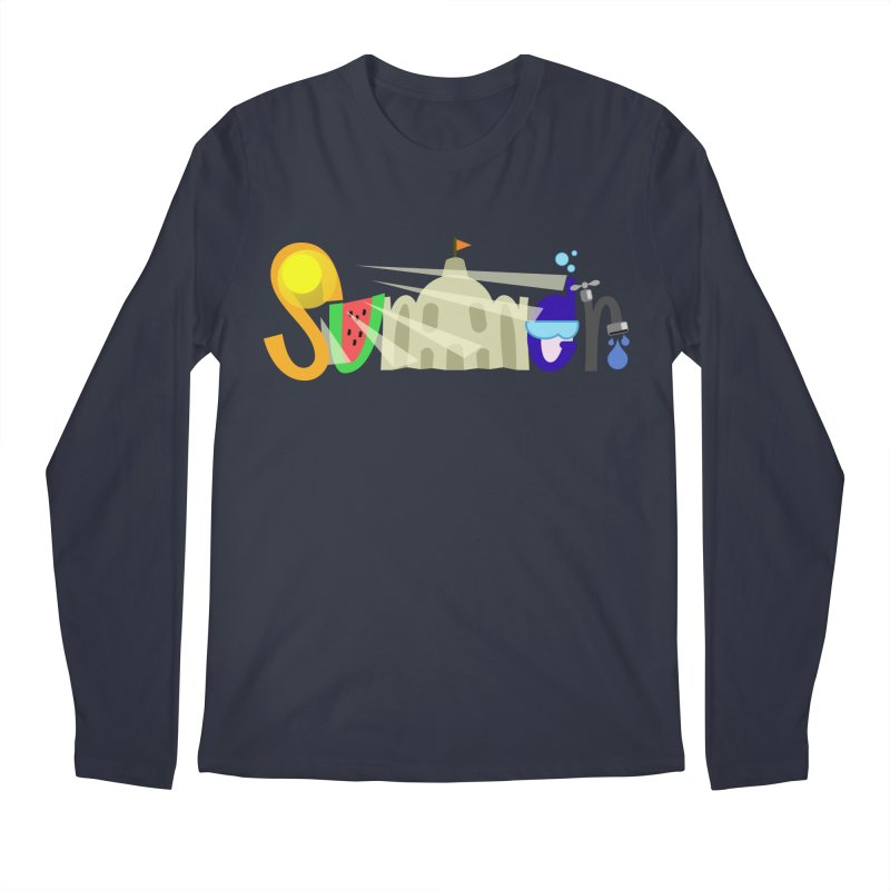 SuMMer Men's Regular Longsleeve T-Shirt by PickaCS's Artist Shop