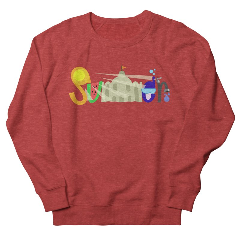 SuMMer Women's French Terry Sweatshirt by PickaCS's Artist Shop