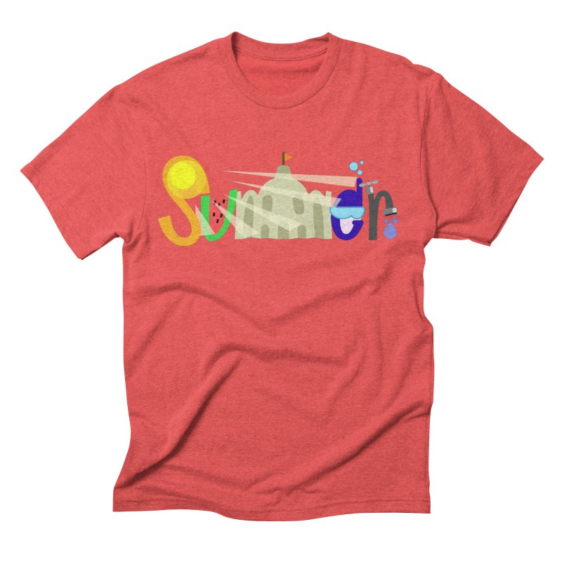 SuMMer Men's Triblend T-Shirt by PickaCS's Artist Shop