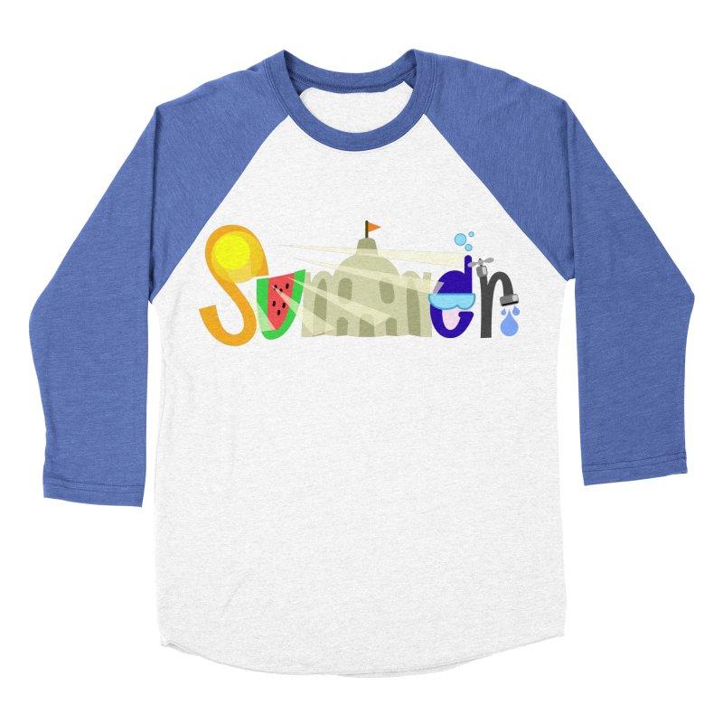 SuMMer Women's Baseball Triblend Longsleeve T-Shirt by PickaCS's Artist Shop
