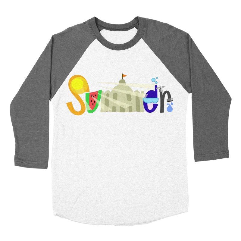 SuMMer Men's Baseball Triblend Longsleeve T-Shirt by PickaCS's Artist Shop