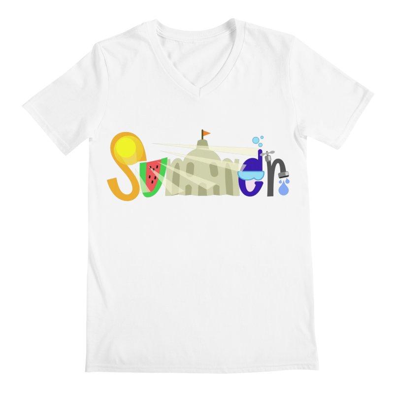 SuMMer Men's Regular V-Neck by PickaCS's Artist Shop
