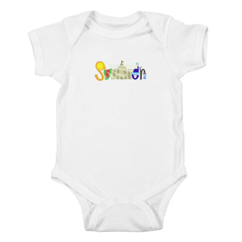 SuMMer Kids Baby Bodysuit by PickaCS's Artist Shop