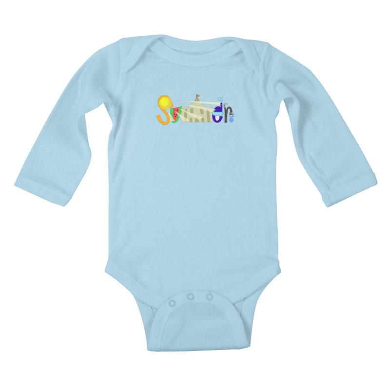 SuMMer Kids Baby Longsleeve Bodysuit by PickaCS's Artist Shop