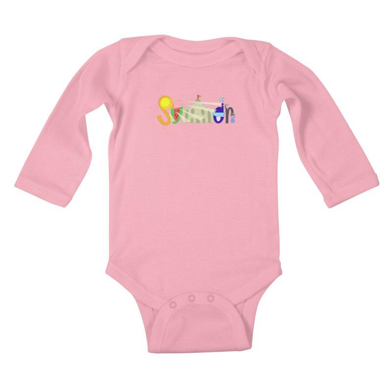 SuMMer Kids Baby Longsleeve Bodysuit by PickaCS's Artist Shop