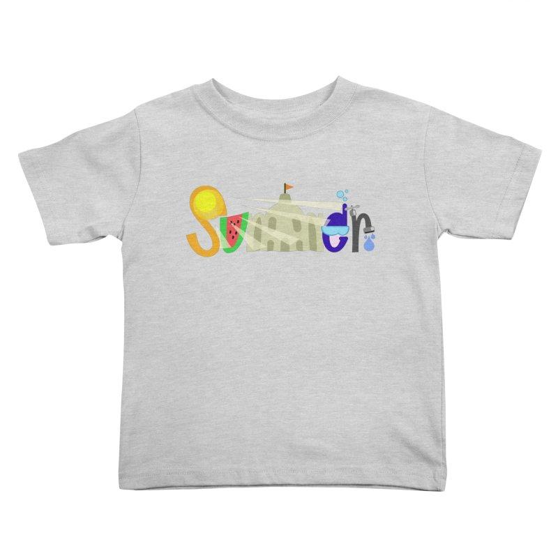 SuMMer Kids Toddler T-Shirt by PickaCS's Artist Shop
