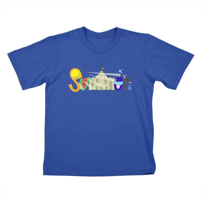 SuMMer Kids T-Shirt by PickaCS's Artist Shop