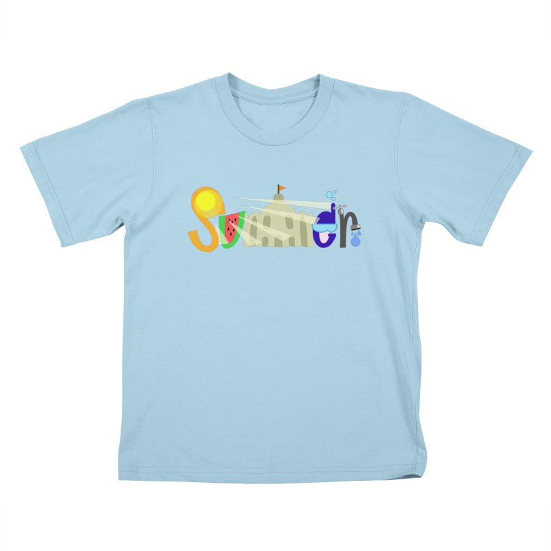 SuMMer Kids T-Shirt by PickaCS's Artist Shop