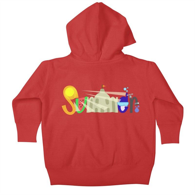 SuMMer Kids Baby Zip-Up Hoody by PickaCS's Artist Shop