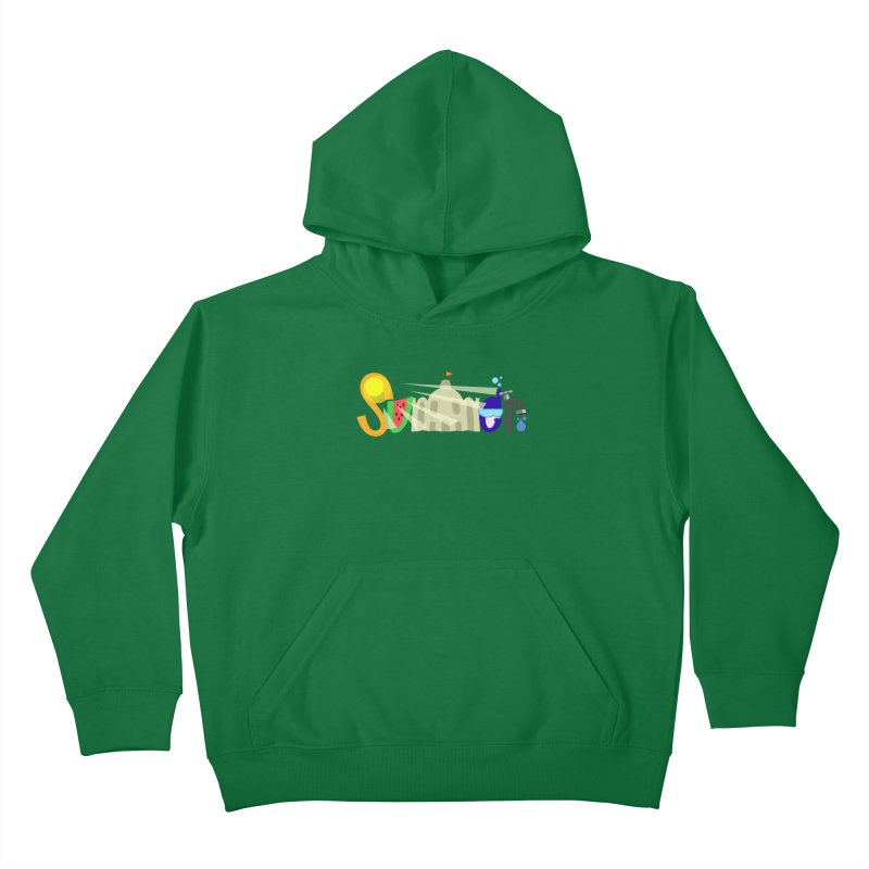 SuMMer Kids Pullover Hoody by PickaCS's Artist Shop