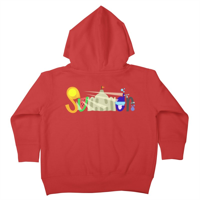 SuMMer Kids Toddler Zip-Up Hoody by PickaCS's Artist Shop