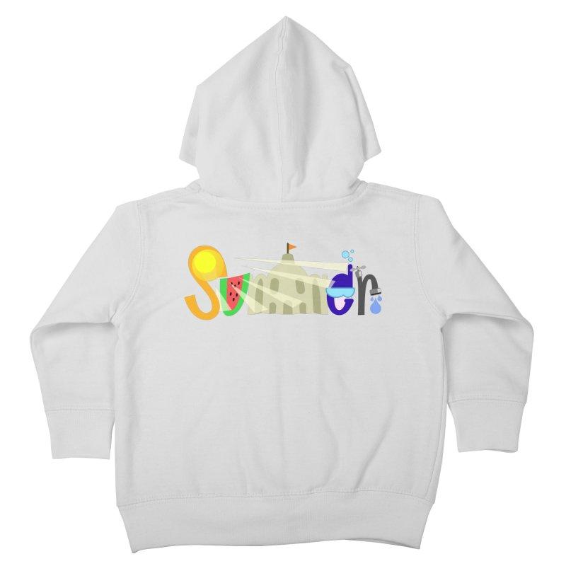 SuMMer Kids Toddler Zip-Up Hoody by PickaCS's Artist Shop