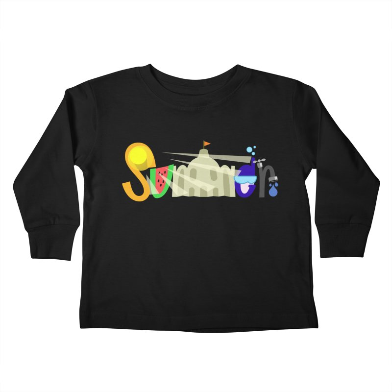 SuMMer Kids Toddler Longsleeve T-Shirt by PickaCS's Artist Shop