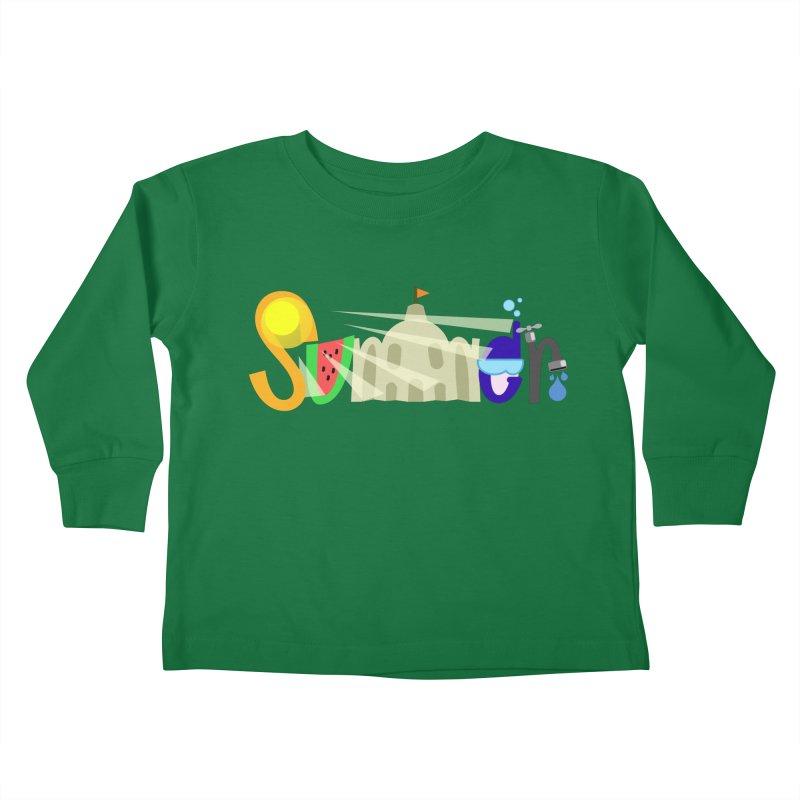 SuMMer Kids Toddler Longsleeve T-Shirt by PickaCS's Artist Shop