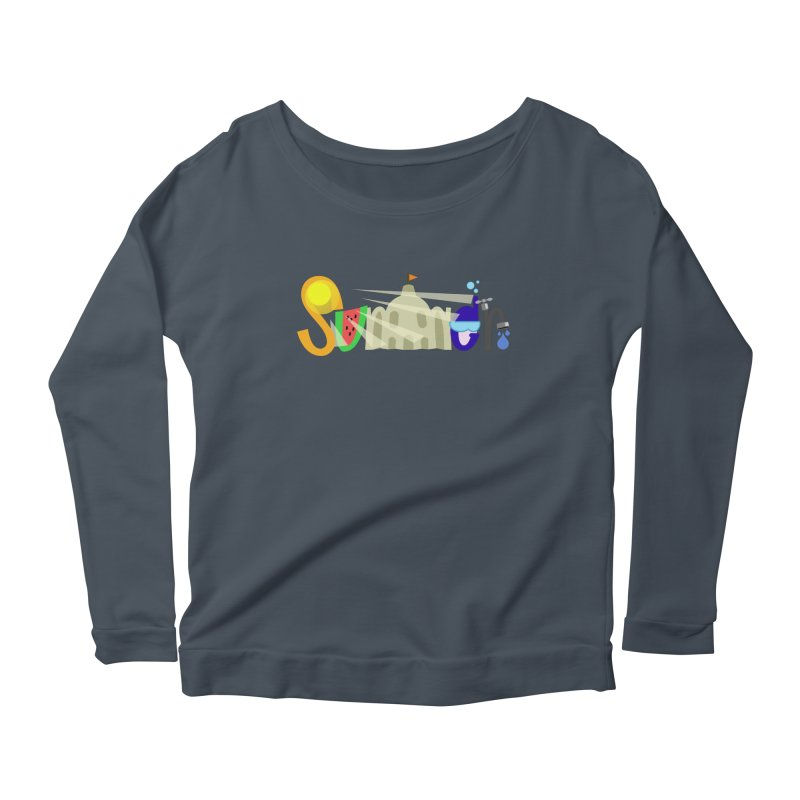 SuMMer Women's Scoop Neck Longsleeve T-Shirt by PickaCS's Artist Shop
