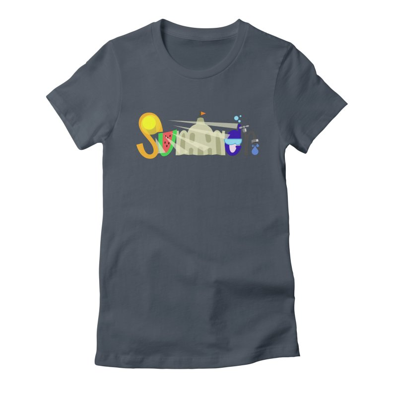 SuMMer Women's Fitted T-Shirt by PickaCS's Artist Shop