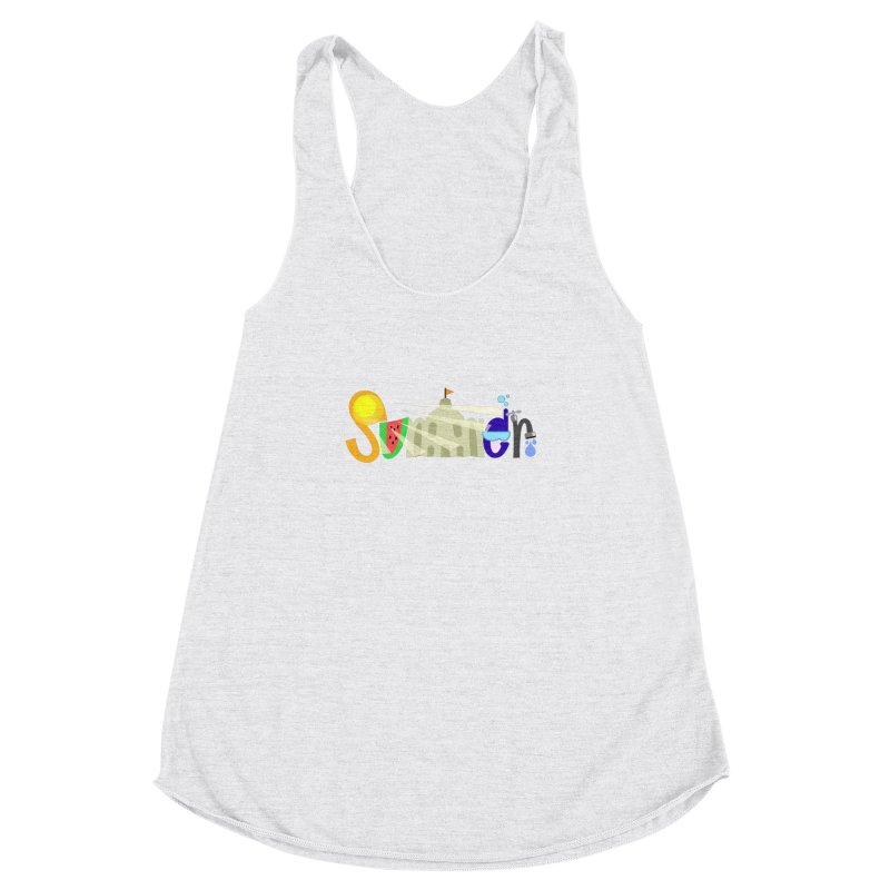 SuMMer Women's Racerback Triblend Tank by PickaCS's Artist Shop