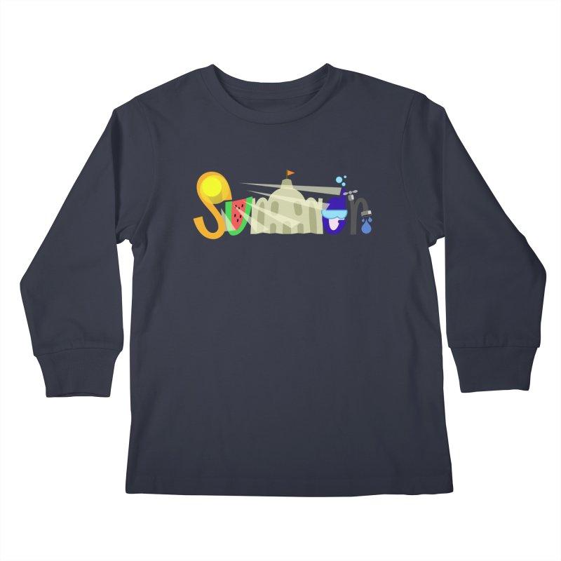 SuMMer Kids Longsleeve T-Shirt by PickaCS's Artist Shop