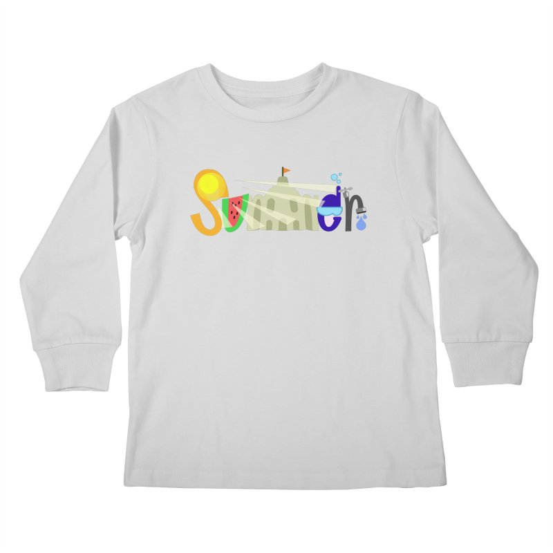 SuMMer Kids Longsleeve T-Shirt by PickaCS's Artist Shop