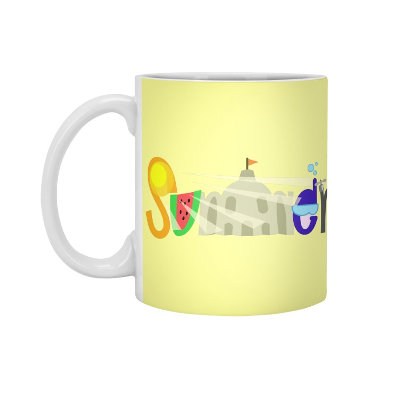 SuMMer Accessories Standard Mug by PickaCS's Artist Shop