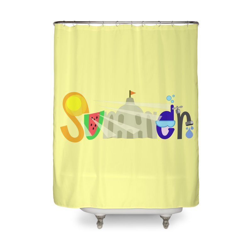 SuMMer Home Shower Curtain by PickaCS's Artist Shop