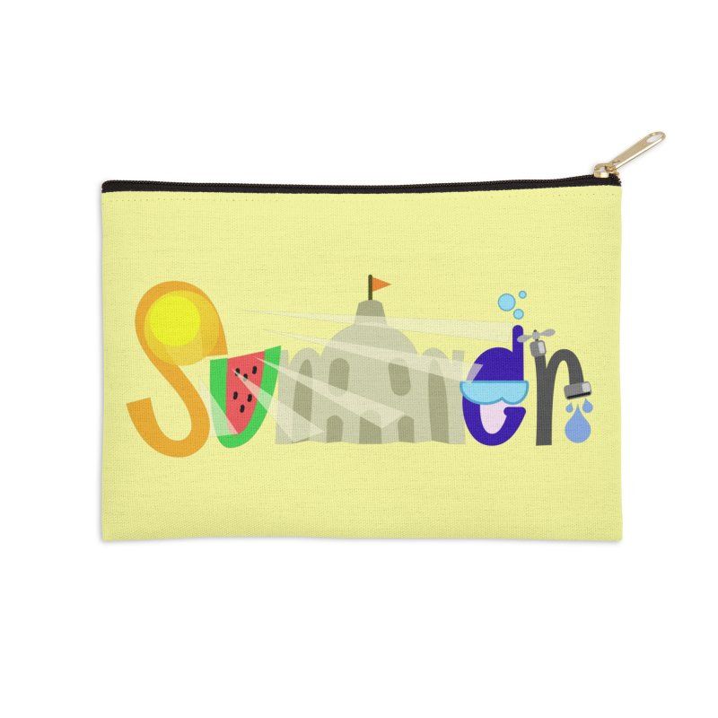 SuMMer Accessories Zip Pouch by PickaCS's Artist Shop