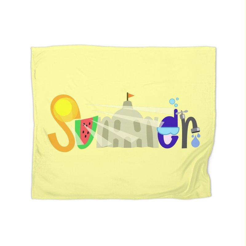 SuMMer Home Blanket by PickaCS's Artist Shop