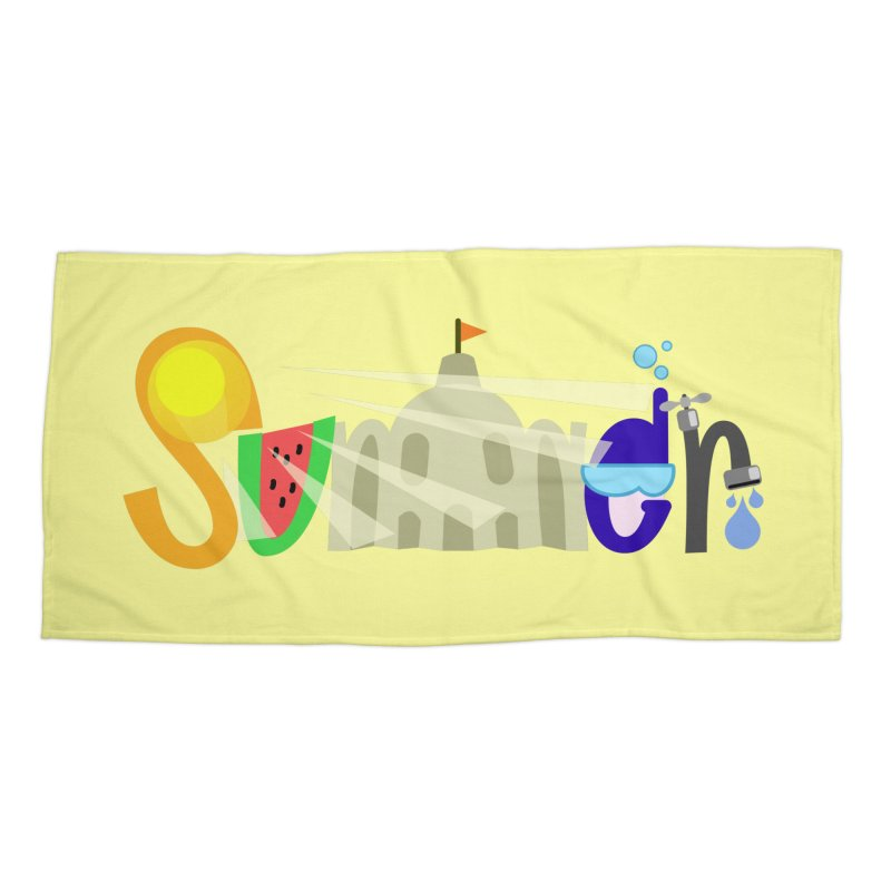 SuMMer Accessories Beach Towel by PickaCS's Artist Shop