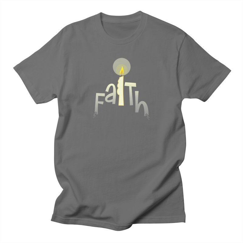 Faith Men's T-Shirt by PickaCS's Artist Shop