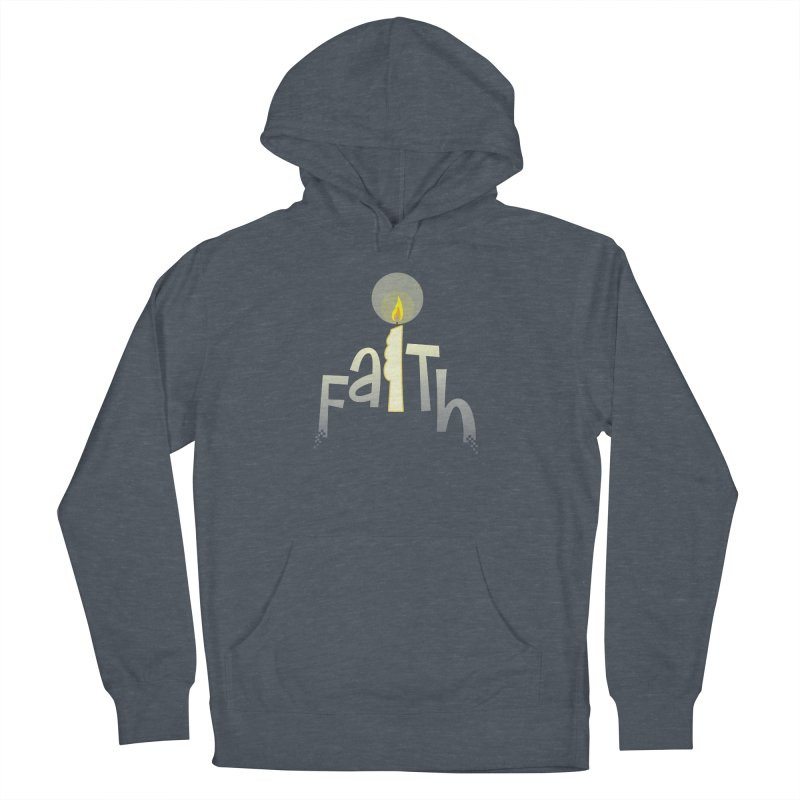 Faith Women's French Terry Pullover Hoody by PickaCS's Artist Shop