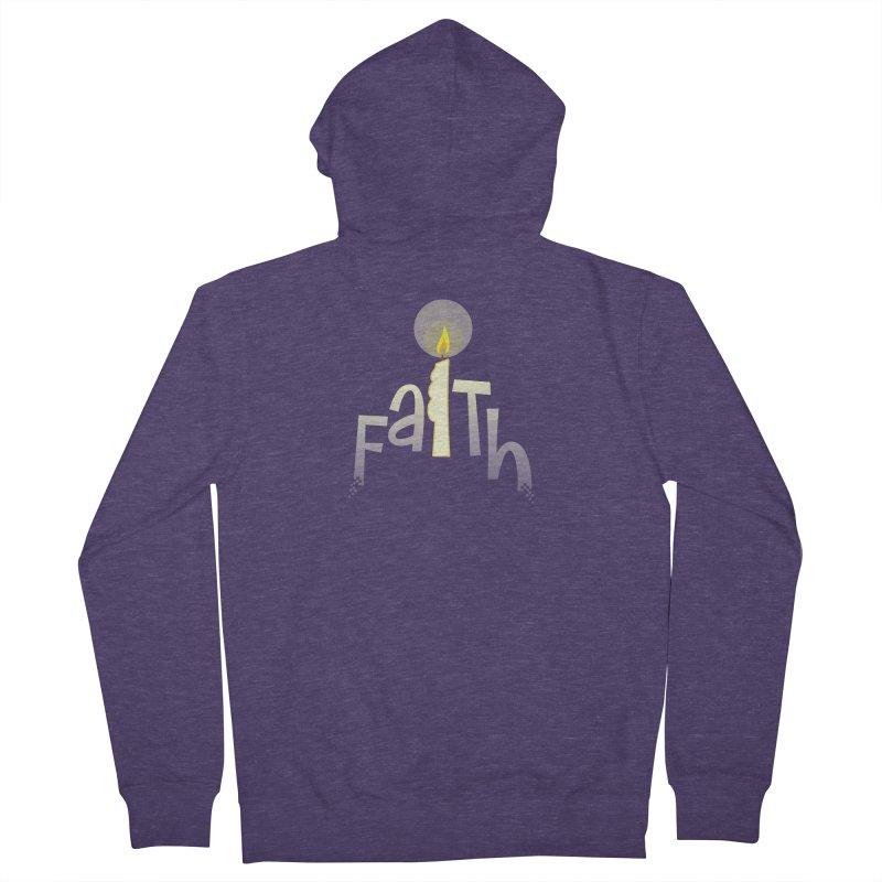 Faith Men's Zip-Up Hoody by PickaCS's Artist Shop