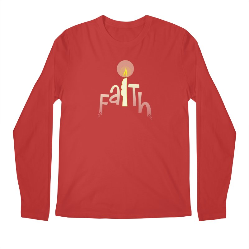 Faith Men's Regular Longsleeve T-Shirt by PickaCS's Artist Shop