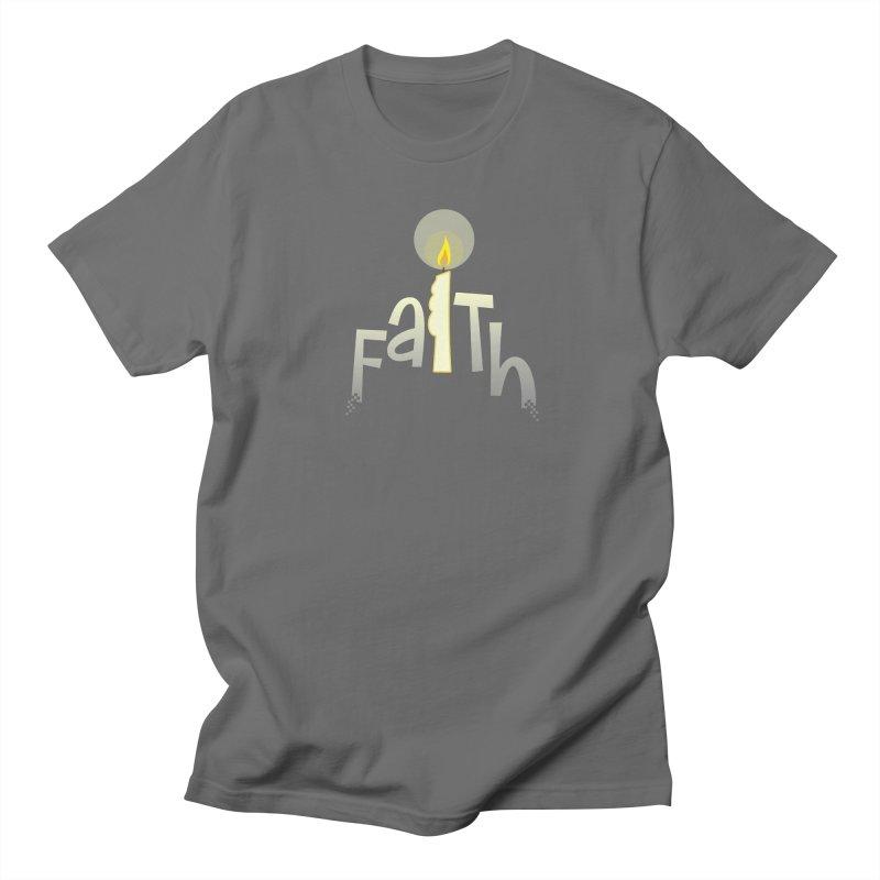 Faith Men's Regular T-Shirt by PickaCS's Artist Shop
