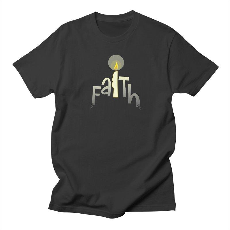 Faith Women's Regular Unisex T-Shirt by PickaCS's Artist Shop