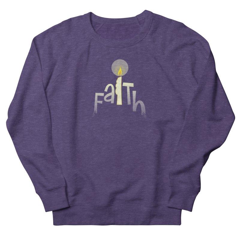 Faith Men's French Terry Sweatshirt by PickaCS's Artist Shop